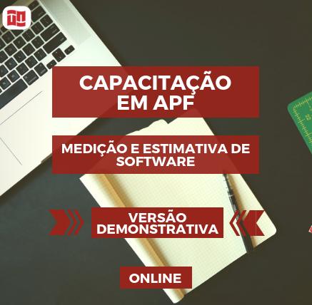 Course Image APF: Capacitação em Medição e Estimativa de Software (Demo)